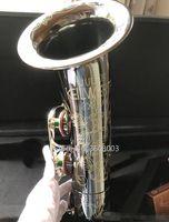 تينور ساكسفون ألمانيا JK SX90R Keilwerth الأسود تينور ساكس الأعلى آلة موسيقية المهنية مع حالة 95٪ نسخة الشحن المجاني