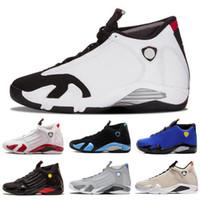 c26a01614d7 Cair 1 JORDAN 1 Classical 14 XIV Basketball Shoes Men Fusion Purple last  shot Black Fusion Varsity Red 14s XIV Retro Sneakers