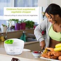 Alta Qualidade Mão Chopper manual de Corda Food Processor Silcer Shredder Salada Criador, Alho, Cebola Slicer ferramenta do cortador de Cozinha
