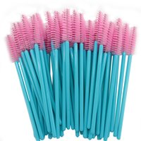 50Pcs Make Up Brushes Cosmetic Tool Disposable Mascara Wands...