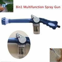 Multi-Funktions-8 in 1 Spray Water Gun Dispenser Garten Sprayer Kunststoff-Schlauchleitung Conector Ez Jet Wasserkanone Sprayer Werkzeuge CCA11545 40pcs