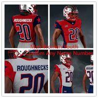 New Custom Houston Roughnecks Jersey 18 Connor Cook XFL Fußball Jersey Phillip Walker Kyle Hicks Andre Williams NickJames Williams genähtes