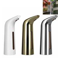 400ml automatico Touchless dell'erogatore del sapone per il bagno albergo Cucina Ufficio Lavelli arredamento Free Hand Sanitizer lozione della pompa di sapone bottiglia FFA4150