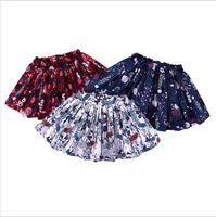 Vêtements pour bébé Summer Girls Tutu Jupes Bubble Fluffy Jupe Tulle Mini robe Shaggy Floral Jupe Ballet Princesse Dance Party de mariage B4572