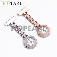 Womens Pink Medical Doctors and Nurses Watch Fob Clip On Bro...