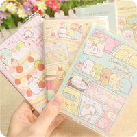 Sumikko linda de la historieta DIY Gurashi cubierta suave de la mini del diario del cuaderno de bolsillo de la libreta de escritorio promocionales regalo