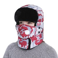 Korean version of the winter warm and windproof outdoor hat ...