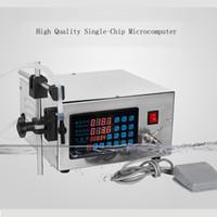 Máquina de enchimento de líquidos comercial Mini enchimento de água engarrafada Bomba Digital Para perfume beber leite máquina de enchimento de azeite