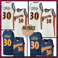 c2be9e9013d Retro White Stephen 30 Curry Warriors Jersey Kevin 35 Durant 11 Klay Andre  9 lguodala Draymond Golden Mens State Basketball jerseys