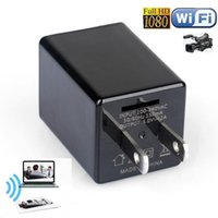 Cargador Z99 WIFI mini cámara Adaptador de CA Full HD 1080P Cargador de video Toma USB DVR Inicio / Oficina Cámaras de vigilancia de seguridad