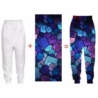 Мужские брюки PLSTAR COSMOS 3D индивидуальные повседневные брюки DIY пользовательские мужчины / женщины Joggers оптовики капля