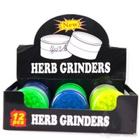 60mm Colorful Plastic Herb Grinder For Smoking Pipe Tobacco ...