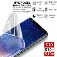 9D soft Full Cover Hydrogel Film For Samsung S10 S9 S8 Plus ...