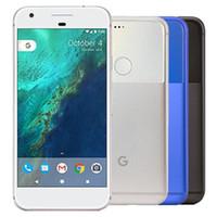 تم تجديده الأصلي جوجل بكسل xl 5.5 بوصة رباعية النواة 4 جيجابايت رام 32 جيجابايت 128 جيجابايت 128 جيجابايت rom 12.3mp مقفلة 4G LTE الهاتف الخليوي الذكية 1PCS