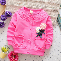 good quality baby girls spring autumn coat jacket for infant...