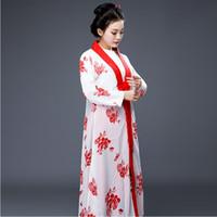 Fairy Cosplay Hanfu для TV Play Сон Красной Палаты Линь Daiyu Драма Костюм элегантный женский халат Классическая опера сценическая одежда