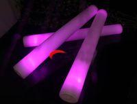 الصمام ضوء العصي رغوة جديدة الدعائم الحفل حزب اللمعان الصمام ضوء مضيئة العصي عيد الميلاد للأطفال اللعب الهدايا DH0323