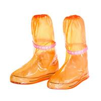 Hot Sale-Herren Damenmode Kniehohe Regenstiefel Wasserdicht Langlebige Stiefel pvc Regenwasserschuh Shirt Regenmäntel High and Low Low Design