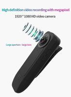 Clip HD Polis Kamera Güvenlik Devriye Görevlisi Kaydedici Giyilebilir Mini Vücut Pocket Mini DVR 1080P Gece Görüş hareket algılama kamera
