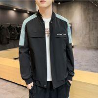새로운 패션 남성의 디자이너 재킷 후드 소녀 재킷 학생 젊은 스타일의 캐주얼 최대 크기 2XL 슬림핏 니트 남성 스웨터 남자 Pullov