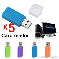 Brand Design USB 2.0 Micro SD SDHC TF Flash-Speicher-Kartenleser-Adapter für Laptop PC 32 64GB