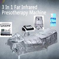 Traje terapia del infrarrojo lejano para la pérdida de peso corporal masaje de la circulación de la sangre quema de grasas del drenaje linfático Presoterapia Máquina Salud