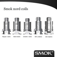 Oryginalne cewki Smok Nord Regularne 1.4HM Mesh 0.6OHM Nord Ceramic Cewka 1.4OHM Meth MTL 0.8OHM do Smok Nord Kit