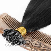 VM peruano u ponta pré-ligado extensões de cabelo 0.5g / strand 100s 1b # 613 # cor 18 a 30 polegadas queratin cola cabelo humano reto