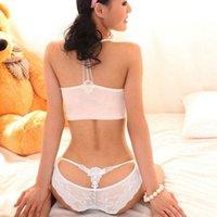 pizzo di Lace Panties ITFABS modo caldo delle donne signore sexy puro Thongs G-string Mutandine Mutandine della biancheria intima 7 colori