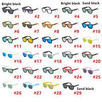 고품질 빈티지 광장 브랜드 명품 선글라스 남성 여성 레트로 빈티지 태양 안경 야외 운전 명품 선글라스 29 색