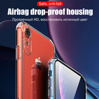 Air Cushion Shockproof Ultra Clear Soft TPU Silicone Cover Case For iPhone XS Max XR X 8 7 6 Plus Samsung Galaxy S9 S8 Note 9 8 A5 A6 A7 A9