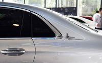 2pcs ABS Side Emblème Badge Allongé Autocollants standard pour Mercedes Benz E Classe C Class Carry Accessoires Car Stylisme