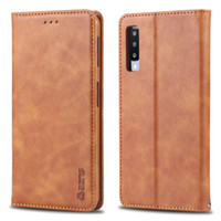 Case For Samsung Galaxy A6 A7 A8 A9 plus 2018 A10 A20 A30 A40 A50 A60 A70 M20 M30 Pu Leather Flip Wallet Card slot Cover