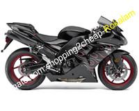 ZX10R Fashion Motorcycle Fairings Fittings For Kawasaki Ninja ZX-10R 06 07 ZX 10R 2006 2007 Street Motorbike Fairing kit (Injection molding)