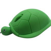 Computer Super Cute Turtle Shaped Mice Laptop Cartoon Mouse ...