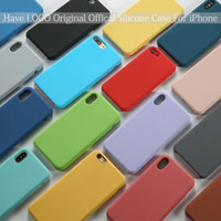 High Qulity Solid Silicone Case Have logo or no For iPhone X...