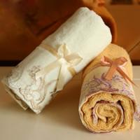 34 * 75 см Спорт быстро сухой полотенце прекрасный и привлекательный хлопок абсорбент полотенце классический кружева вышивка дизайн полотенце для лица мягкой мочалкой