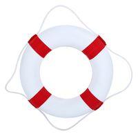 Profesyonel Katı Köpük Çocuk Lifebuoy Çift Kalınlaşma Kurtarma Şamandıra Cankurtaran Yüzme Halka Havuz Şamandıra Parti Watersport