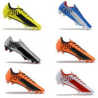 Mercurial XIII Elite FG Youth Junior Boys Botas de fútbol Botas Neymar zapatos de fútbol chuteiras de futebol ACC Grip Speed ​​Freak