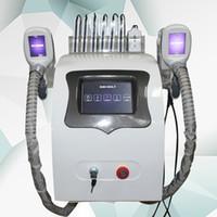 تكلفة عالية الجودة! 2020 Cryolipolysis الدهون تجميد آلة التخسيس بالموجات فوق الصوتية العلاج بالتبريد RF شفط الدهون ليبو آلة الليزر