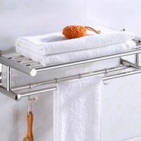 حامل منشفة الحمام منظم الحمام الحائط منشفة الرف الرئيسية فندق جدار الجرف الأجهزة أكوري