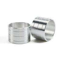 "4003 NAPA 1.800 ""Aluminiumabstandshalter (2) für WIX 24003 OD 1.800"" / ID 1.610 "". Silber"