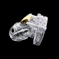 Male Chastity Device with Catheter, Penis Lock Cock Cage, Ad...
