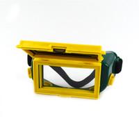 Nuova estate Solar Auto Auto Scaricamento LCD Goggigli per saldatura / Maschera per casco / Eyeshade per saldatore