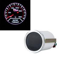 "Freeshipping Nuovo standard 2 ""52 millimetri bianco display a LED acqua temperatura manometro auto autometro sensore di temperatura dell'acqua del sensore"