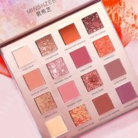 16 Colors Charming Eyeshadow Palette Easy To Color Waterproo...