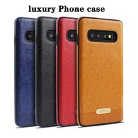 Luxury phone case for Samsung S10 S10 Plus S10 Lite leather ...