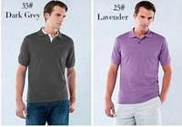 nuova estate piccolo coccodrillo cavallo T-Shirt nuovi disegni Polo Uomo ricamo del manicotto degli uomini degli uomini casuali dimagriscono le camice di polo degli uomini di polo