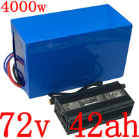 72V 2000W 3000W 4000W motorino elettrico pacco batteria 40AH bicicletta 72v 40Ah litio