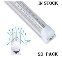 20PCS LED Tubes Light V Shaped 4ft 5ft 6ft 8ft LED Tube T8 I...